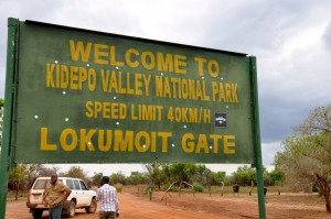 Entrance to Kidepo