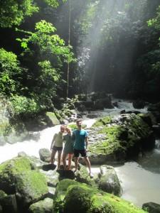 Van, me and Alex in Misahuali